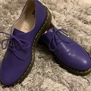 Purple dr. Martens